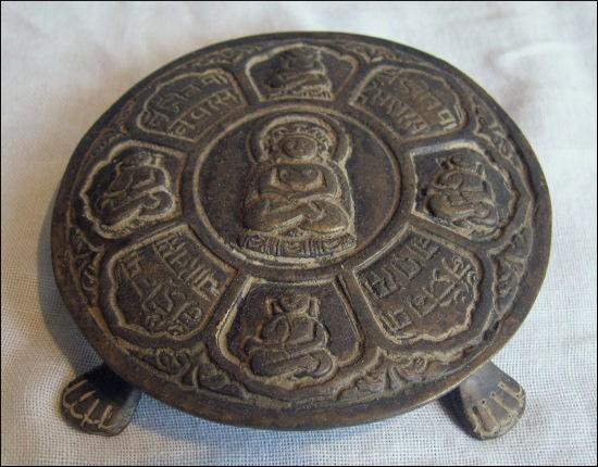 Buddha decoration plate