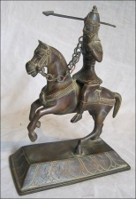 Hunting maharaja statue
