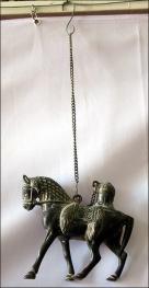 Hanging horse lamp
