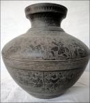 Holy pot (originally to carry water from the river Ganges)