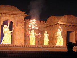Khajuraho Dance Festival - photo taken from Wikipedia