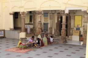 Inside jain temples