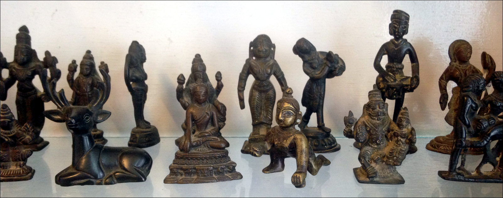 small statues
