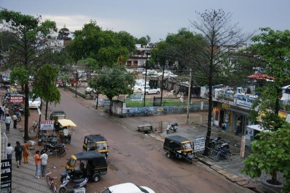 Khajuraho town centre